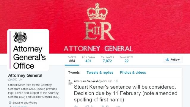 Complaints about Stuart Kerner's suspended sentence.