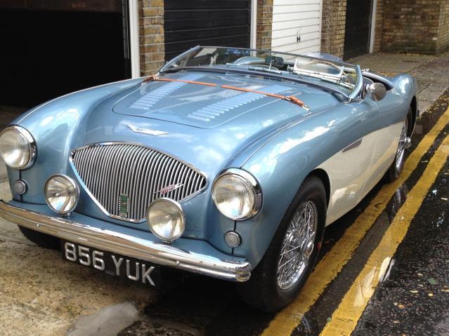 Classic car stolen