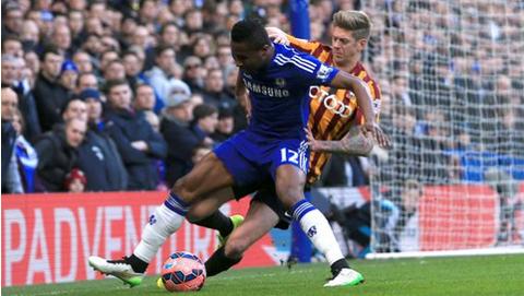 Chelsea 2 Bradford City 4