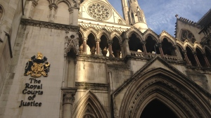The Royal Courts of Justice where the Litvinenko Inquiry is in session.