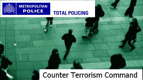 Counter-terrorism command of the Met Police