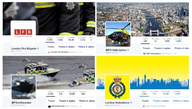 Emergency services for London