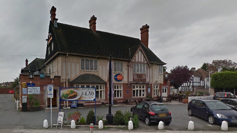 Hotel in Hornchurch where food poisoning Christmas 2012 led to death of mother and illness for many others