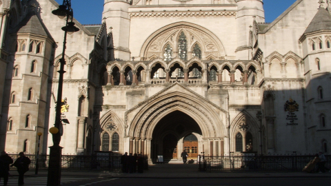 The Royal Court Of Justice, where the Litvinenko Inquiry wil be held.
