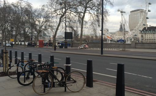 Point on proposed route of Cycle Superhighway. Photo: Katie Rogers