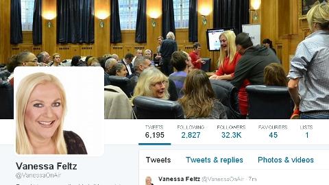 Vanessa Feltz BBC London Twitter account