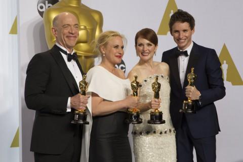 Eddie Redmayne won an oscar for the best leading actor