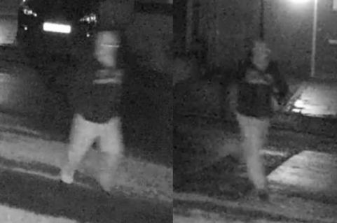 CCTV Footage of suspect. Image courtesy of Met. Police