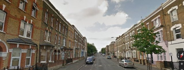 Chatworth Road, Hackney. Image: Google Street View