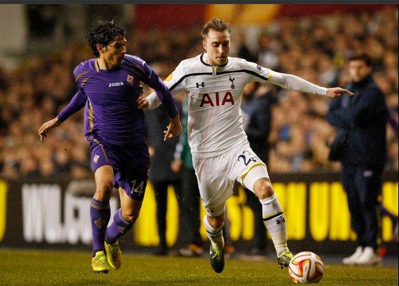 Spurs v  Fiorentina in Europa League.