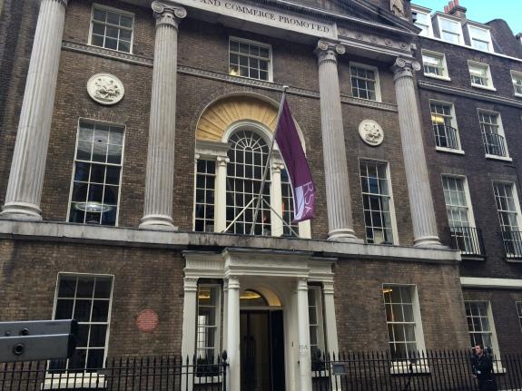 "Green Pary launches at the Royal Society of the Arts - a ""forward thinking, visionary place"""