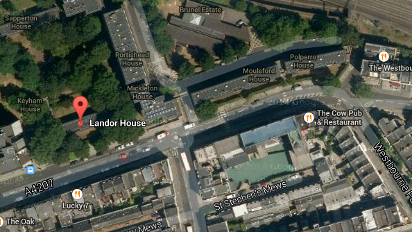 Paddington area where police investigate 3 deaths.