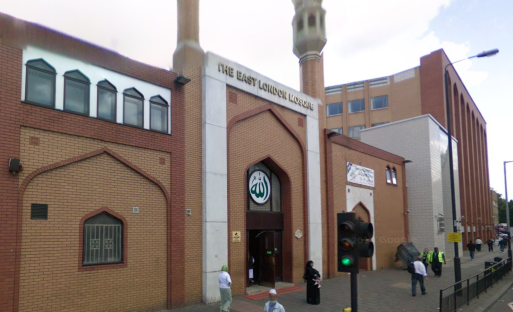 East London Mosque takes part in the British Muslim Council's intiative. Photo: Google maps