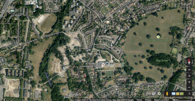 Screenshot from Google Earth.
