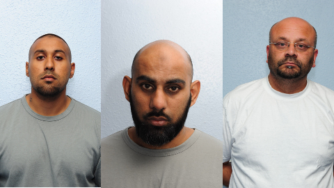 Three men jailed at Woolwich Crown Court