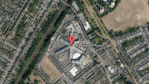 Wandsworth Prison. Image: Google Satallite