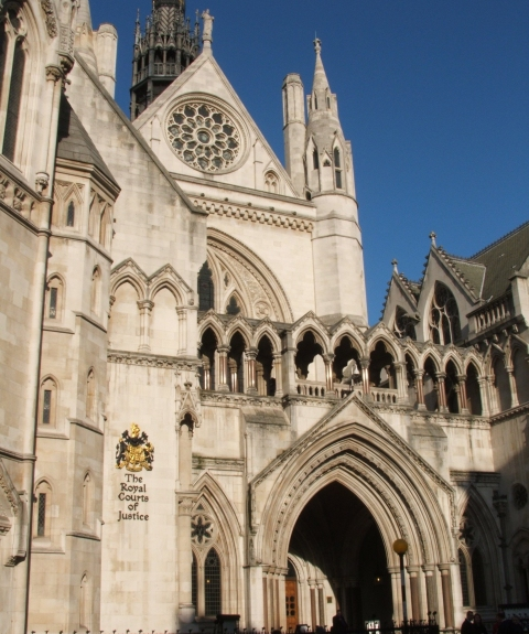 Court of Appeal at Royal Courts of Justice in the Strand at the top of Fleet Street. Image: LondonMMNews.