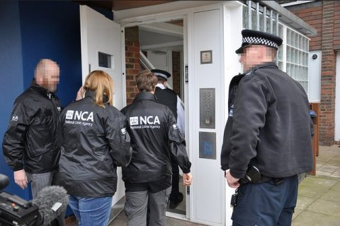 A man was arrested in Harlesden on suspicion of network intrusion. Image: NCA