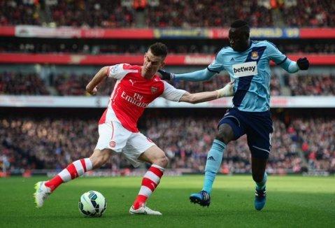 Arsenal beat West Ham Utd 3-0 at the Emirates. Image: @Arsenal FC