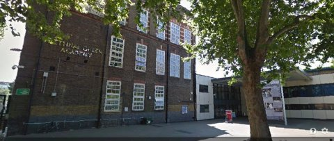 Bethnal Green Academy in Tower Hamlets. Image: Google Street View
