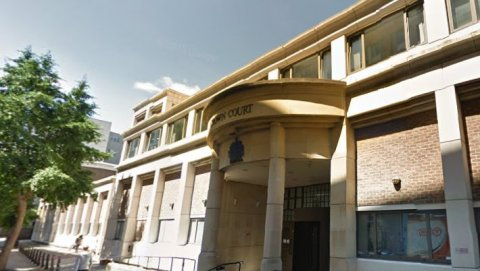Blackfriars Crown Court in the City of London. Image: Google Street View
