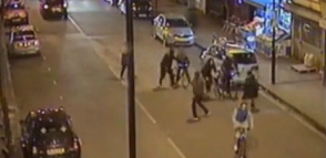 The attack on Alan Cartwright and his friends in Islington. Image: Met Police