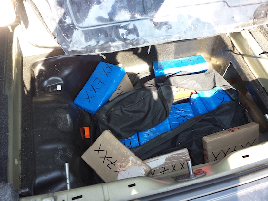 15kgs of cocaine seized in conspiracy investigation. Image: Met Police.