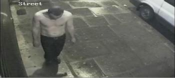 Bilel Ayadi was captured by a CCTV camera in Broad Lane, N15. Image: Met Police.