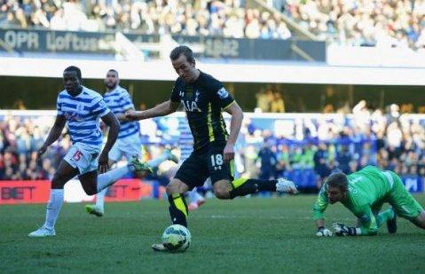 Harry Kane scoring in six straight away wins. Image: @Premiership