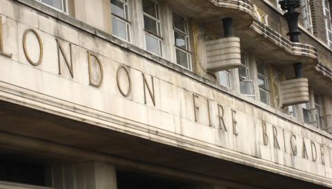 London Fire Brigade building