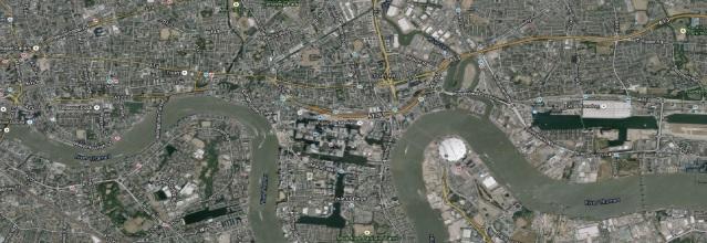 London- Satellite Picture. Image: Google.