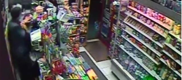 Unprovoked attack on Paddington shopkeeper Image: Met Police