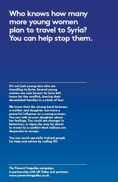Prevent Tragedies Leaflet. Image: Met Police