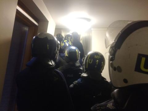 Dawn raids in south east London