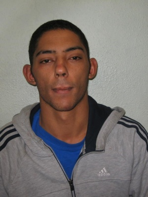 Errol Woodger jailed for 4 years at Woolwich Court for trying to rob a store in Greenwich with an axe. Image: Met Police custody photograph