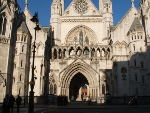Royal Courts of Justice. Image: LondonMMNews