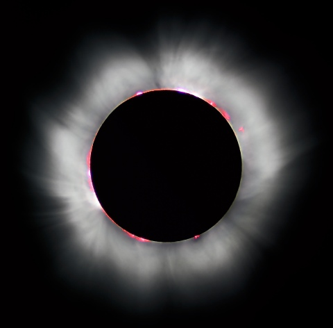 """Solar eclipse- not seen in London. Image: Solar eclipse 1999 4 NR"""" by I, Luc Viatour. Licensed under CC BY-SA 3.0 via Wikimedia Commons"""