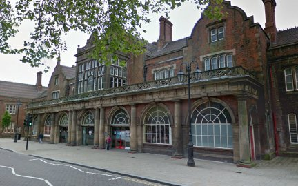 The British Transport Police were called to Stoke-on-Trent station to remove passengers. Image: Google Street View