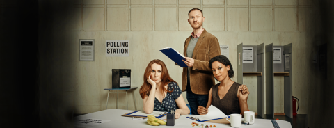 The Vote at the Donmar Warehouse and on More4. Image: Donmar Warehouse