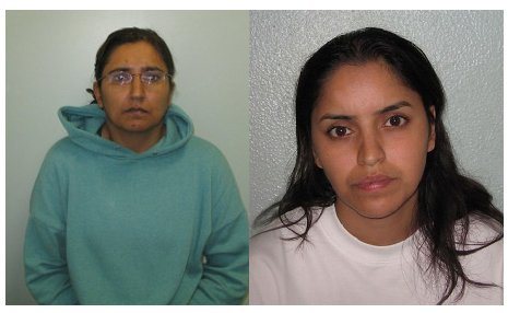 Kiki Muddar (Left) and Polly Chowdhury (Right) convicted of killing Ayesha Ali. Images: Met Police