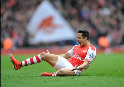 Alexis Sanchez who snubbed Liverpool to join Arsenal rubbing the Merseysiders' noses further by a goal that show the gulf in class. Image: @Arsenal