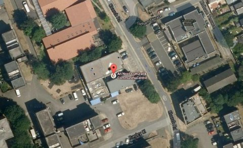 Aerial view of An Noor Cultural and Community Centre in Acton- the mosque where Abdul Hadi Arwani was Iman between 2005 and 2011. Image: Google Satellite