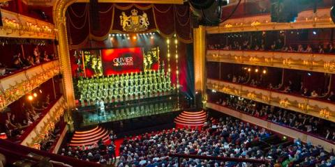 The 2015 Olivier Awards were hosted by Lenny Henry. Image: @OlivierAwards