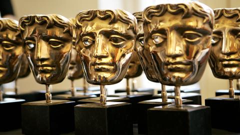 BAFTA trophy. Image: BAFTA/Marc Hoberman