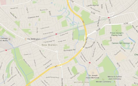 Beverley Way, Kingston Upon Thames. Image: Google Maps