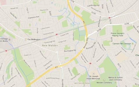 Beverley Way, Kingston Upon Thames. Image: Google Maps
