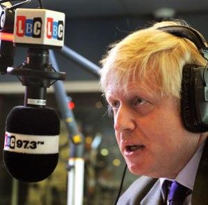 "Boris Johnson called the Janner decision ""disgraceful"".  Image: www.lbc.co.uk"