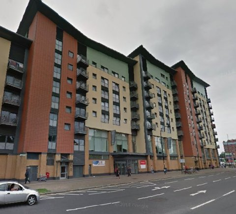 Brickland Court, The Broadway, Edmonton- scene of 'Jack' Barry's murder last December. Image: Google Street View