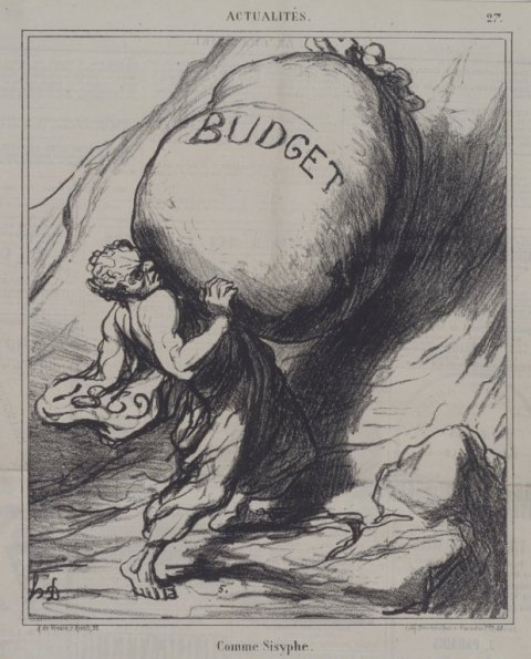 """Brooklyn Museum - Comme Sisyphe - Honoré Daumier"" by Honoré Daumier - Online Collection of Brooklyn Museum; Photo: Brooklyn Museum, 2004, 53.166.2.jpg. Licensed under Public Domain via Wikimedia Commons"
