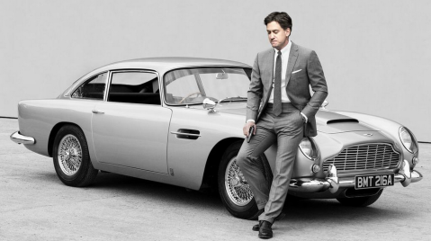 Ed Miliband as James Bond Image: @LabourMark